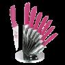 Rooc Seramik Kaplı Desenli Kasap Bıçağı