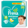 Prima Aktif Bebek Fırsat Paketi 8 Beden 31 lı