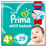 Prima Çocuk Bezi Ekonomik 9-20 Maxi Plus 4+ No 30