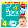 Prima Çocuk Bezi Fırsat Paketi Maxi 54 Lı