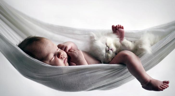 bebekler uykuda ogreniyor