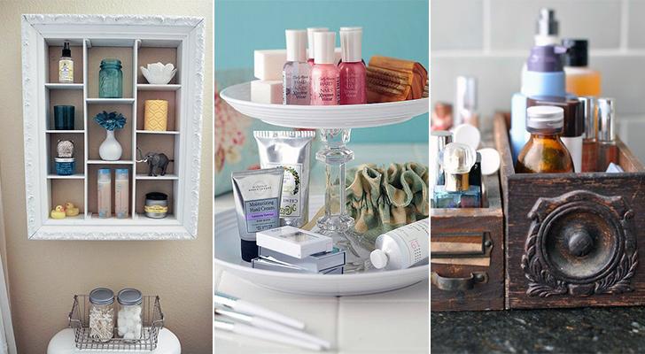 Banyo Için Evde Yapılabilecek Kolay Tasarımlar