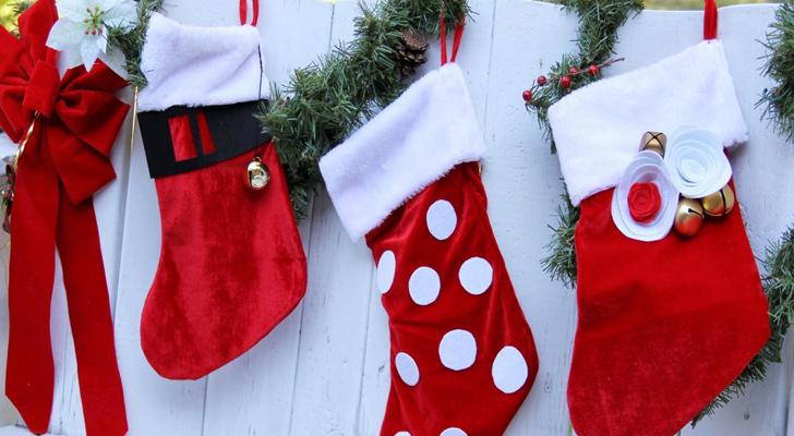 Dekoratif Yılbaşı çorabı Yapımı