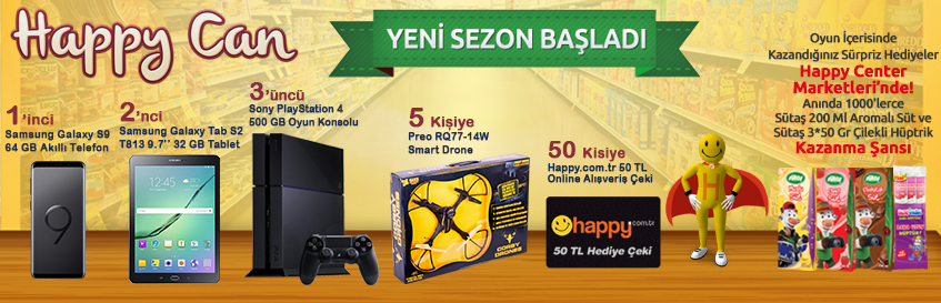 Happy Can 15.sezon başladı