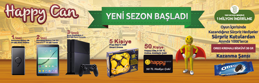 Happy Can 13.sezon başladı