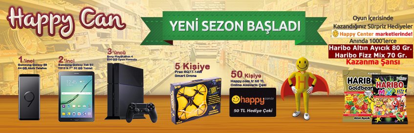 Happy Can 14.sezon başladı