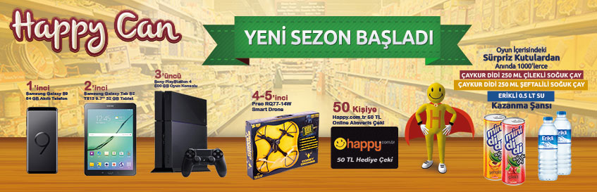 Happy Can 11.sezon başladı
