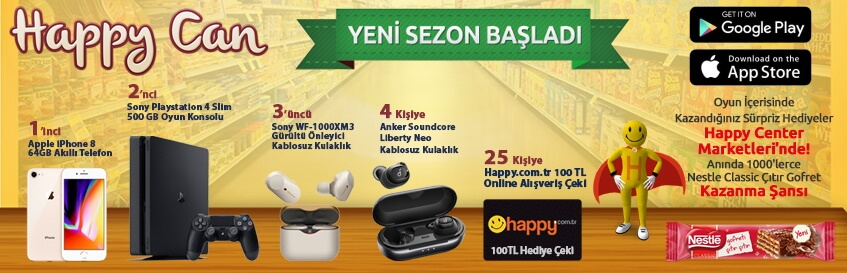 Happy Can 16.sezon basladi