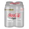 Coca Cola Light Kutu 4x250 ml