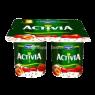 Danone Activia Pro.Yoğurt Çilek-Keten Toh 4*100 Gr