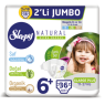 Sleppy Çocuk Bezi Natural Extra Large 2 lı Jumbo40 Lı
