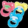 Wee 834 Baby Desenli Damaklı Emzik 6-18 Ay No:2