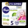 Sleppy Çocuk Bezi Maxi Natural Junior 2 li Jumbo48 Li