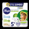 Sleppy Çocuk Bezi Natural Junior Plus 2 Li Jumbo 44 Lü