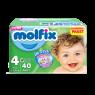 Molfix Çocuk Bezi Maxi Eko Paket 40 lı