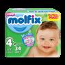 Molfix Çocuk Bezi M.Plus Eko Paket 34 Lü