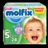 Molfix Çocuk Bezi J.Plus Eko Paket 28 Li