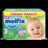 Molfix Çocuk Bezi Midi Fırsat Paketi 72 Lİ