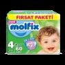 Molfix Çocuk Bezi Maxi Fırsat Paketi 60 Lı
