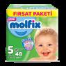 Molfix Çocuk Bezi Junior Fırsat Paketı 48 Li
