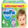 Molfix Süper Fırsat Paket 3D Maxi 76 Lı