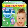 Molfix Süper Fırsat Paket 3D Maxi Plus 72 LI