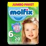 Molfix Cocuk Bezi 3D E.Large 20 li Jumbo Paket