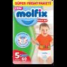 Molfix Cocuk Bezi Pants Junior 60 lı Süper Fırsat Paketi