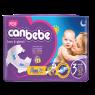 Canbebe Comfort Dry Jumbo Midi Bebek Bezi 4-9 kg 45 LI