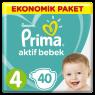 Prima Çocuk Bezi Ekonomik 7-18 Maxi 4 No 40 Lı