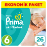 Prima Çocuk Bezi Ekonomik Extra Large 6 No 26 lı
