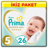 Prima Çocuk Bezi Premium Care Ikız Junior 25 Lı