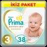 Prima Çocuk Bezi Premium Care İkiz Midi 32 Li