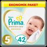 Prima Çocuk Bezi Premıum Ekonomik Junior 5 42 lı