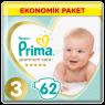 Prima Çocuk Bezi Premium Care Ekonomik 3 No 62 LI