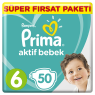 Prima Çocuk Bezi  Süper Fırsat Paket Extra Large 50 lı