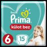 Prima Külot Extra Large Tekli Pkt S6 15 lı