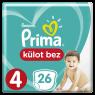 Prima Külot Bez Maxi Tekli Pkt S4 21 Lİ
