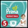 Prima Külot Bez Junior Tekli Pkt S6 18 Lı