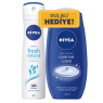 Nıvea Deo Byn Fresh 150 Ml+ Duş C.Care 250 Ml