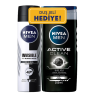 Nıvea Deo 150 Ml Erk B&W Org+Duş Act Cln 250 ML