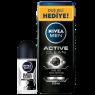 Nivea Roll-On 50Ml Erk B&W Org+Duş Act Cln 250 Ml