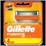 """Gillette Fusion Yedek Tıraş Bıçağı 4""""lü"""