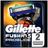 """Gillette Fusion ProGlide Yedek Tıraş Bıçağı 2""""li"""
