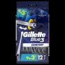 Gillette Blue3 Comfort 9+3Ct Ucl Mea/Tr