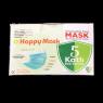 Happy Mask Beyaz 5 Katlı 50 Li