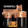Duracell Pil D Boy 2 Li