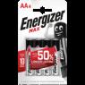 Energizer Alkalin Pil Max AA Bp 4