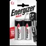 Energizer Alkalin Pil Max C Bp2