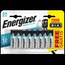 Energizer Alkalin Pil AA Bp 12 (8+4)